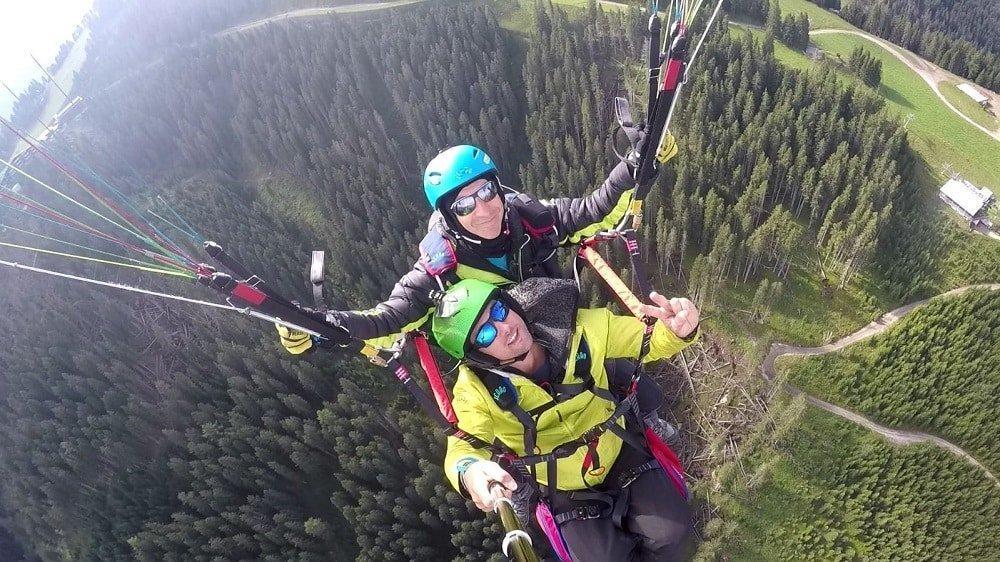 Scuola parapendio Dolomiti Flying School in val di Fiemme